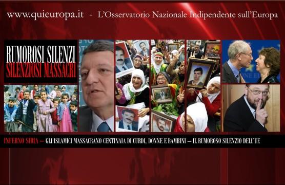 Massacro di Curdi, il Silenzio dell'UE