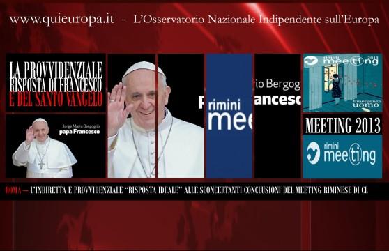 Papa Francesco - Angelus Domenica 18 Agosto 2013