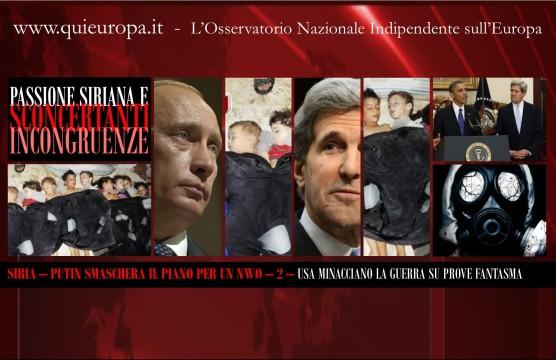 Syria - Putin - USA - New Worl Order