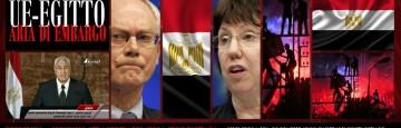Ue - Egitto - Embargo Sostanziale - Consiglio Straordinario