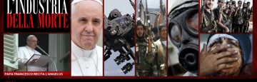 Angelus - Papa Francesco - Armi e Guerra