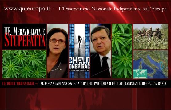 Cannabis - Borghezio - Albania