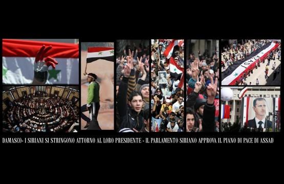 Discorso Assad censurato dai media Italiani