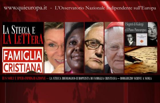 Piano Kalergi e Famiglia Cristiana - Islamizzazione dell'Italia e Iperimmigrazione