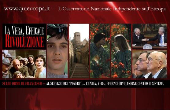 Rivoluzione - San Francesco - Crisi Italia