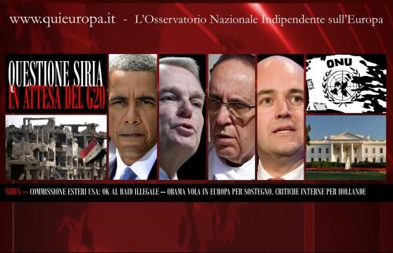 Siria - Obama
