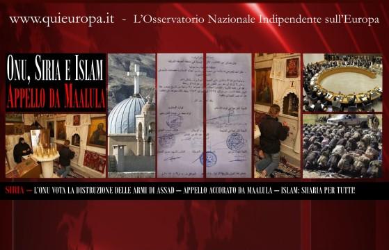 Siria - Sharia - Onu