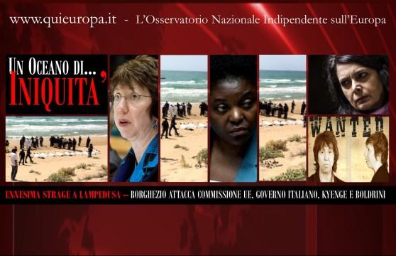 Borghezio - Strage Lampedusa