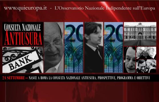 Consulta Nazionale Antiusura