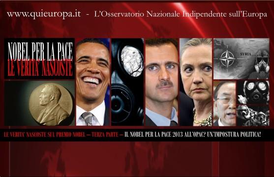 Nobel per la Pace - OPAC - 2013