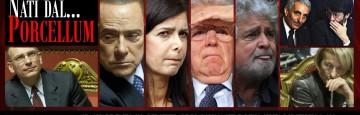 Porcellum - Berlusconi - Letta