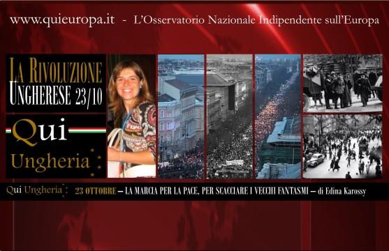 QUI UNGHERIA - EDINA KAROSSY - Budapest - 23 Ottobre