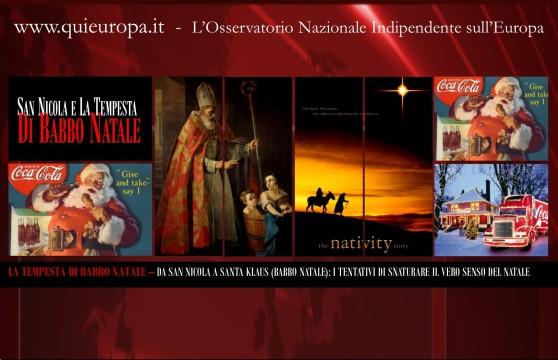 Santa Klaus e San Nicola