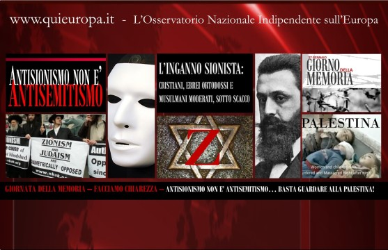 Antisionosmo non è Antisemitismo