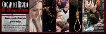 Crociata del Rosario per l'Italia