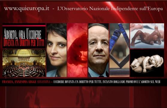 Francia - Hollande - Aborto per tutti