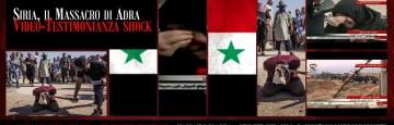 Il Massacro di Adra - Siria