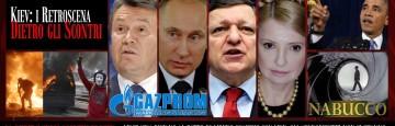 Scontri a Kiev - Putin - Barroso - Gazprom