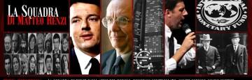 Governo Renzi - La Squadra
