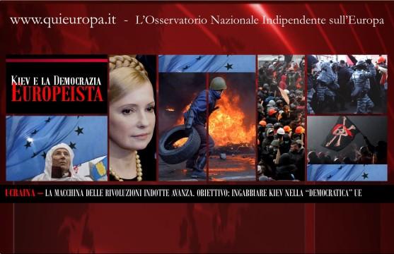 Kiev - Video Shock - Scontri tra europeisti e polizia