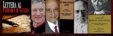 Lettera al Patriarca di Venezia