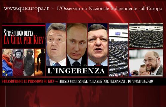 Strasbugro - Kiev - Parlamento Europeo