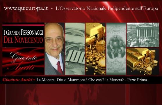 I Grandi del Novecento - Giacinto Auriti