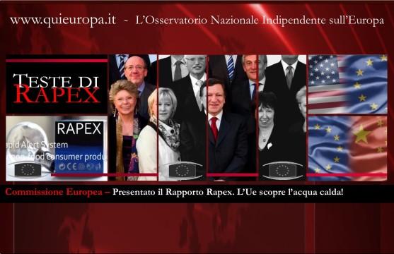 Rapex Report 2013 - european commission