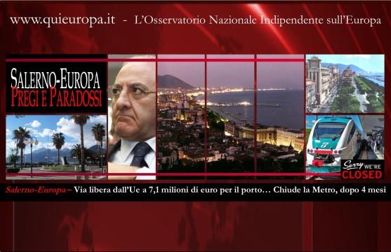 Salerno  porto - metropolitana