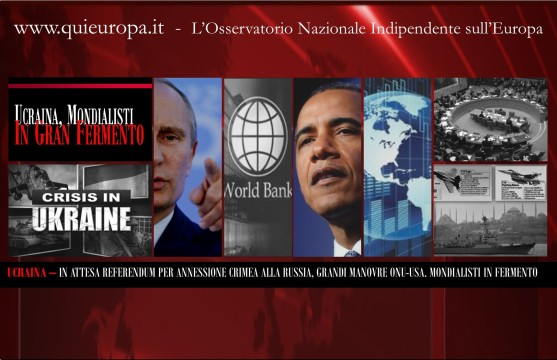 Ukraine Crisis - Usa - Russia - United Nations - World Bank