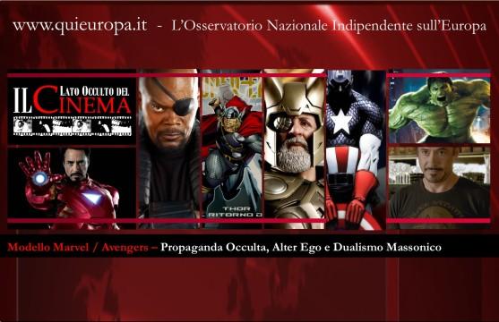 Avengers - massoneria - Il Lato Occulto del Cinema