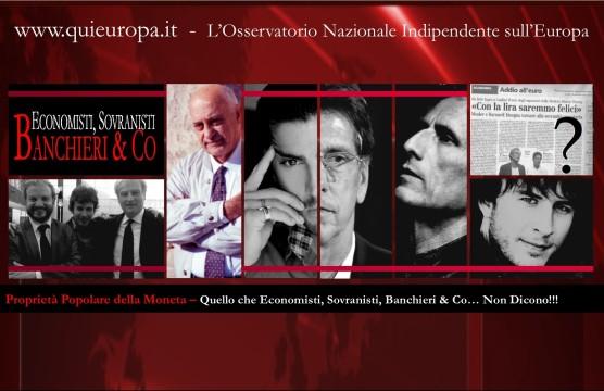 Daniele Pace - Quello che i sovranisti, gli economisti e i banchieri non dicono