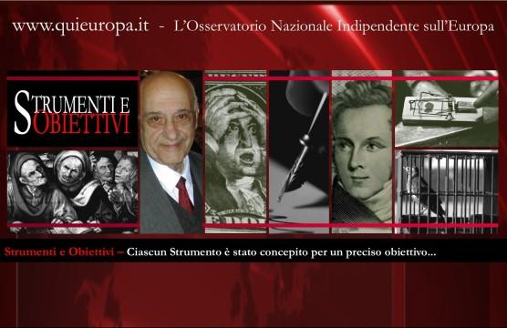 Giacinto Auriti - Strumenti e Obiettivi