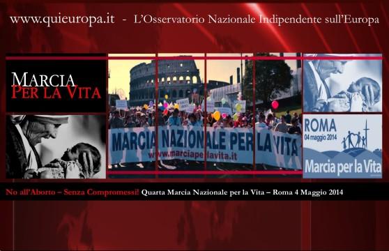 Marcia per la Vita - Roma  4 Maggio 2014