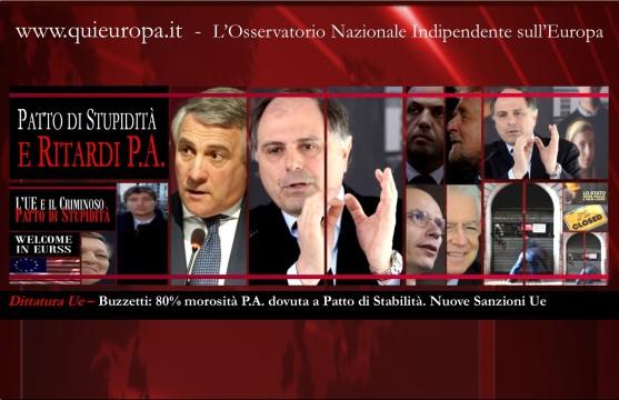 Patto di Stabilità - Tajani - procedura d'infrazione Ue