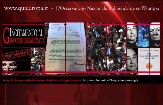 Piano Kalergi e Terzomindializzazione - Sfruttamento e Assistenzialismo