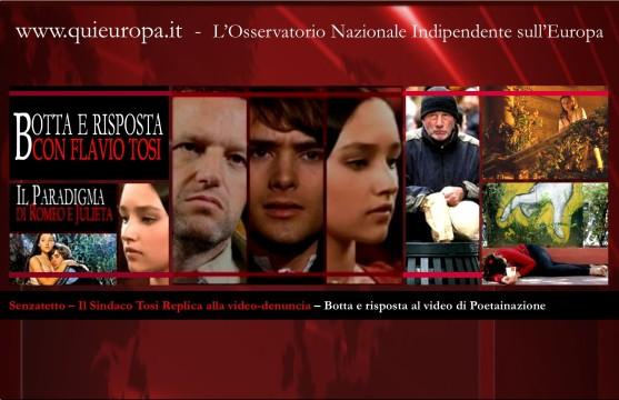 Romeo e Giulietta - Senzatetto - Flavio Tosi - Sindaco di Verona