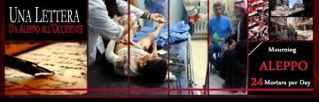 Aleppo siria - 24morti al giorno - lettera di Nabil Antaki