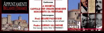 Convegno - Bellante - Teramo - La Moneta e il Debito