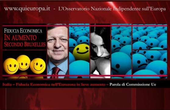 Fiducia Economica in aumento - Commissione europea - Italia