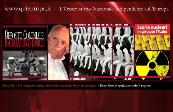 Gianni Lannes - Edo Ronchi - Scorie radioattive - Deposito unico