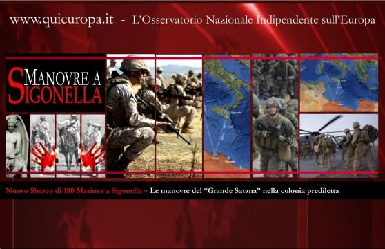 Sigonella - Marines