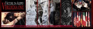 Siria - ONU - Aleppo - Crimini contro l'umanità