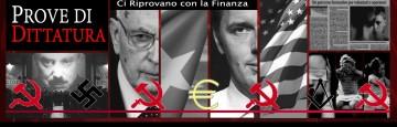 Dittatura Italia - euro - comunismo - nazismo - europeismo