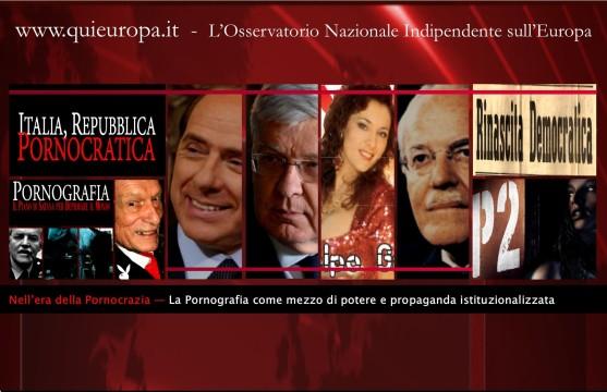 Italia Repubblica Pornocratica - Dulles - Berlusconi - P2