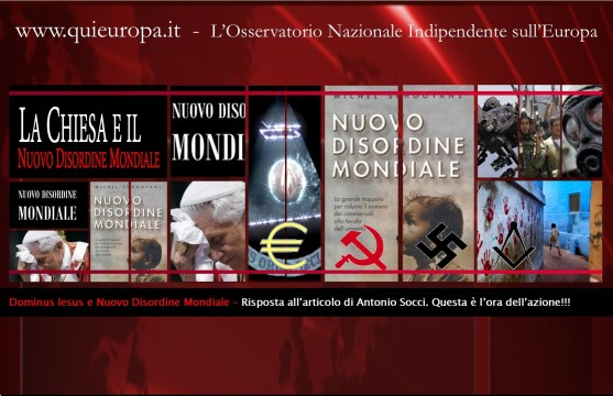 Nuovo Ordine mondiale - Nuovo Disordine Mondiale - New World Order
