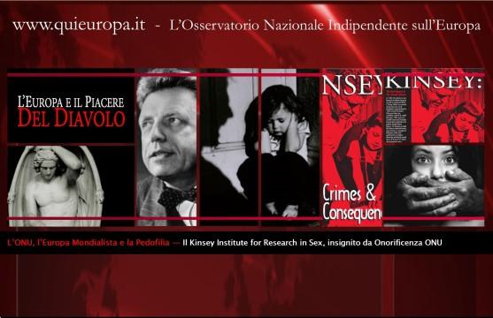 Onu, Europa e Pedofilia - Kinsey Institute