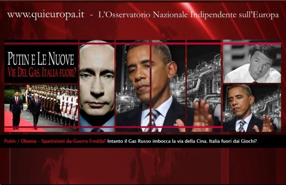 Putin - Obama - GAS - Cina