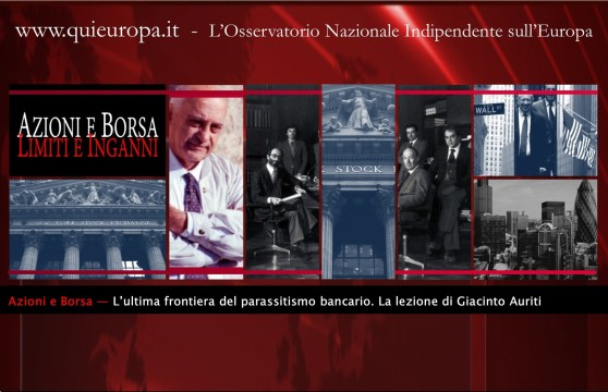 Borsa - Azioni - Giacinto Auriti