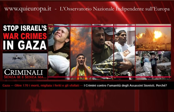 Criminali sionisti in Gaza
